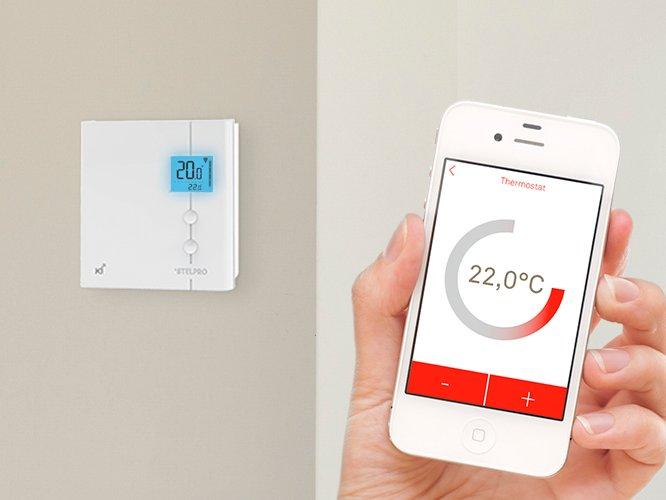 Thermostat de chauffage intelligent